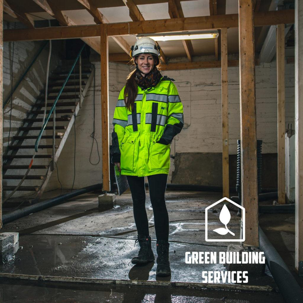 Green Building Services is on of the Raksystems Group's business divisions.