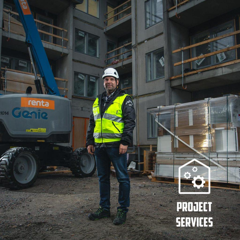 Project Services is on of the Raksystems Group's business divisions.